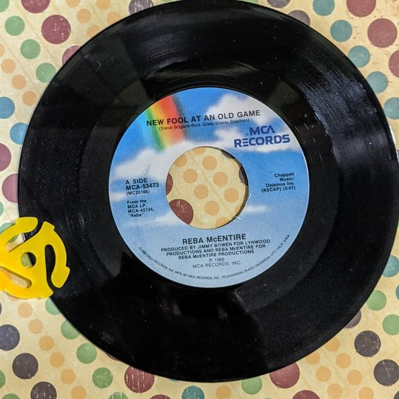 MCA Other - Reba McEntire New Fool At An Old Game record